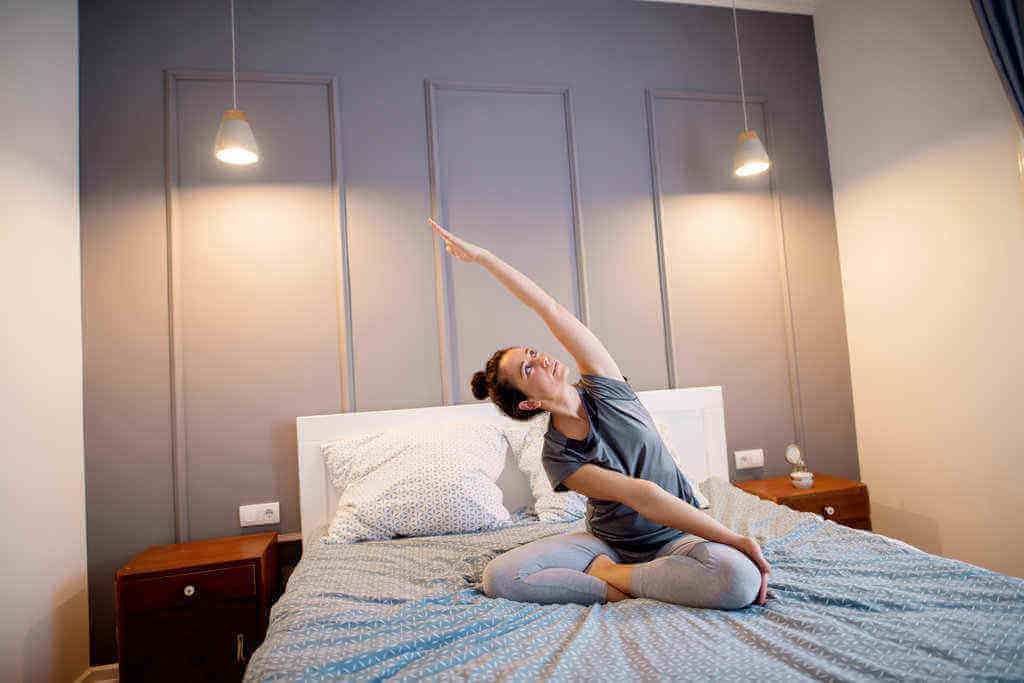 8 Yoga Movements Before Sleep & Its Benefits